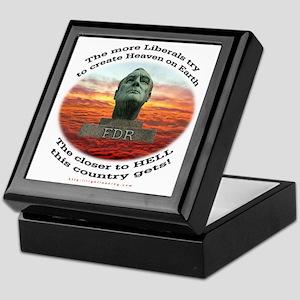 Liberal Hell on Earth Keepsake Box