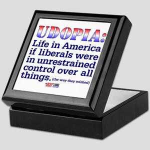 "Liberal ""Udopia"" Keepsake Box"