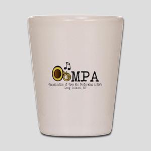 OOMPA w/ venues Shot Glass