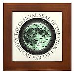 Liberal Moonbats Framed Tile