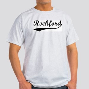 Vintage Rockford Ash Grey T-Shirt