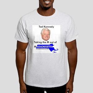 TK M out of Mass. Ash Grey T-Shirt