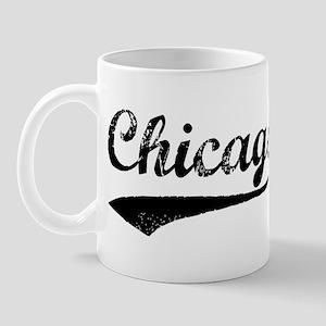 Vintage Chicago Mug