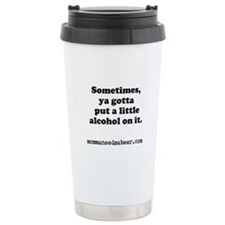 Momma Needs a Beer Stainless Steel Travel Mug
