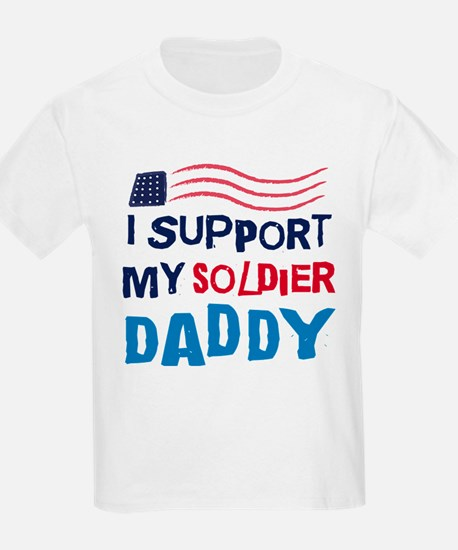 Soldier Daddy Support T-Shirt