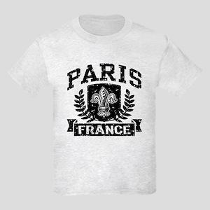 Paris France Kids Light T-Shirt