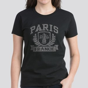 Paris France Women's Dark T-Shirt