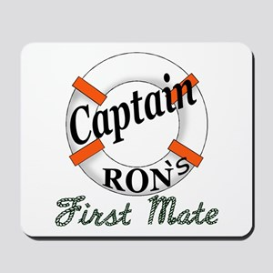 Captain Ron Mousepad
