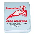 Remember Jose-2 baby blanket