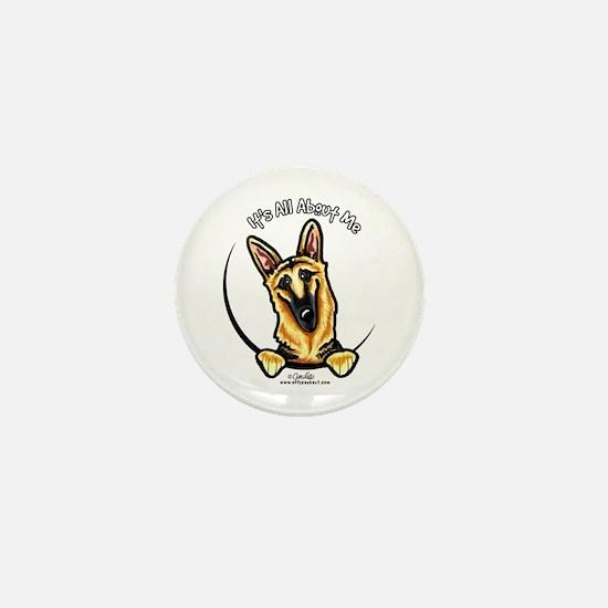 German Shepherd IAAM Mini Button