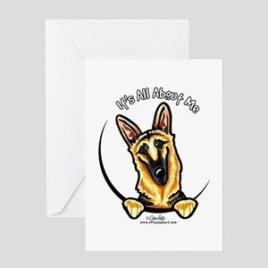 German Shepherd IAAM Greeting Card