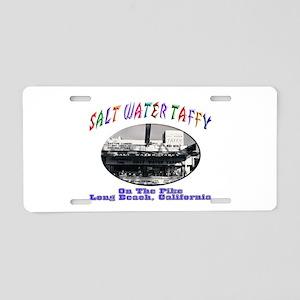 Salt Water Taffy Aluminum License Plate