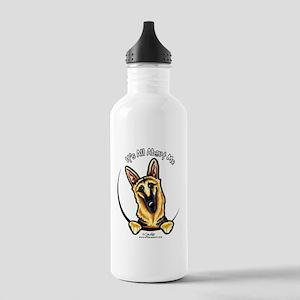 German Shepherd IAAM Stainless Water Bottle 1.0L