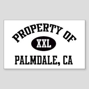 Property of Palmdale Rectangle Sticker