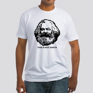 Marx Not Santa Fitted T-Shirt