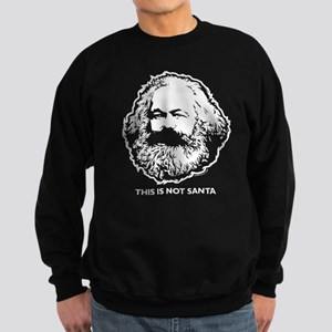 Marx Not Santa Sweatshirt (dark)