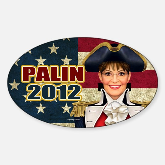 Colonial Palin Sticker (Oval)