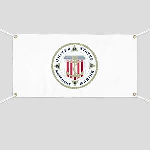 United States Merchant Marine Emblem (USMM) Banner