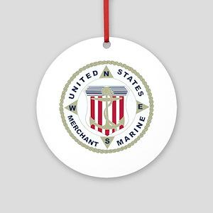 United States Merchant Marine Emblem (USMM) Orname
