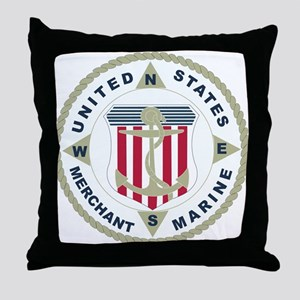 United States Merchant Marine Emblem (USMM) Throw