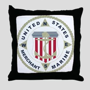 United States Merchant Marine Emblem (USMM) Throw