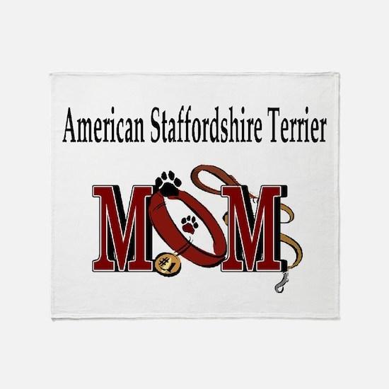 American Staffordshire Terrie Throw Blanket