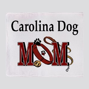 Carolina Dog Mom Throw Blanket