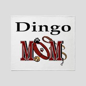 Dingo Dog Mom Throw Blanket
