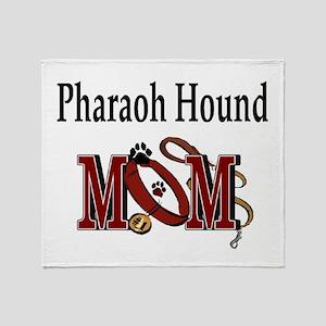 Pharaoh Hound Mom Throw Blanket