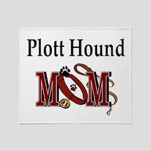 Plott Hound Mom Throw Blanket