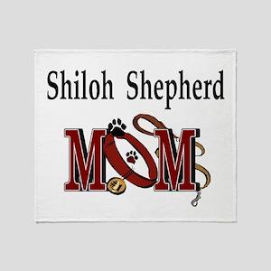 Shiloh Shepherd Mom Throw Blanket