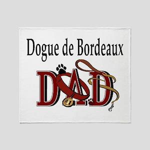 Dogue de Bordeaux Throw Blanket