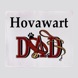 Hovawart Dad Throw Blanket