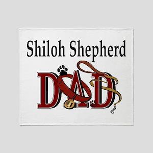 Shiloh Shepherd Dad Throw Blanket