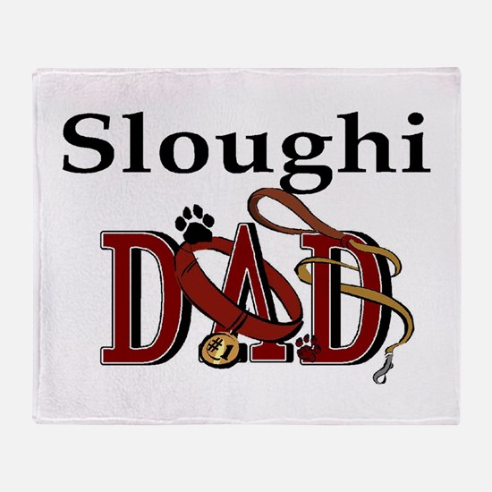 Sloughi Dad Throw Blanket