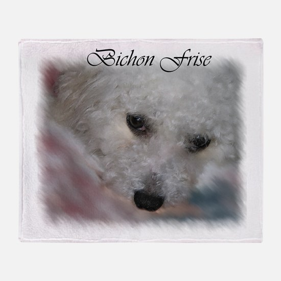 Bichon Frise Throw Blanket