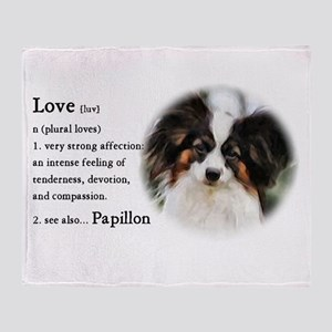 Papillon Gifts Throw Blanket