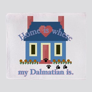 Dalmatian Home Throw Blanket