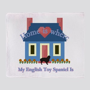 English Toy Spaniel Throw Blanket