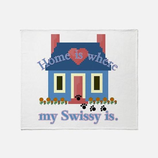 Greater Swiss Mtn Dog Throw Blanket