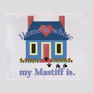 Mastiff Lover Throw Blanket