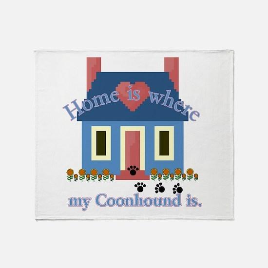 Treeing Walker Coonhound Throw Blanket