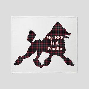 BFF Poodle Throw Blanket