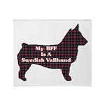 BFF Swedish Vallhund Throw Blanket