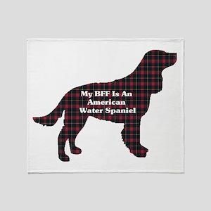 American Water Spaniel Throw Blanket