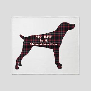 BFF Mountain Cur Throw Blanket