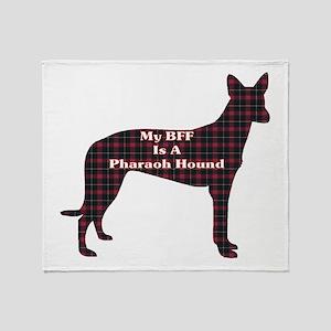 BFF Pharaoh Hound Throw Blanket