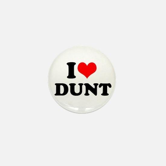 I Heart Dunt Mini Button