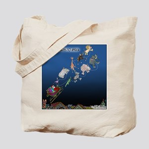 Even Santa Outsources Tote Bag