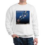 Even Santa Outsources Sweatshirt